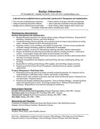 Property Manager Resume Example 56 Images 9 Property Manager