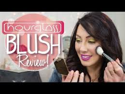 review new hourgl blush in my new house makeup geek