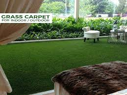 artificial grass carpet best option for indoor and outdoor green rug home depot