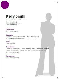 Resume Templates Open Office Simple Resume Template Open Office Httptopresumeresumetemplate