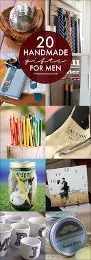 Handmade Gift Tutorials for Men