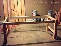 Brilliant Design Homemade Dining Table Prissy DIY Farmhouse Dining Table My  First Woodworking Project