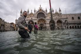 Venice Hit By Another Ferocious High Tide Flooding City