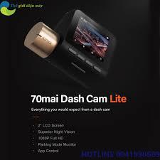 Bản quốc tế] Camera hành trình oto Xiaomi 70mai Dashcam Pro Lite - Bảo hành  12 tháng - Shop Thế Giới Điện Máy Thế giới điện máy - đại lý xiaomi chính