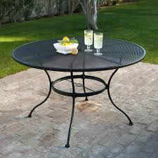 60 round outdoor dining table outdoor dining table wood inch round glass top patio table outdoor
