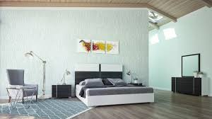 Italian White High Gloss Bedroom Furniture Set - All World Furniture