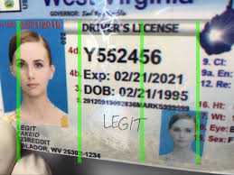 Fake Legitfakeid West Virginia Id