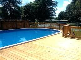 square above ground pool with deck. Above Ground Oval Pool Deck Plans Decks Original . Square With