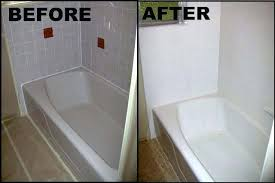resurfacing bathtub home improvement refinishing how to refinish a kit