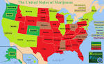 map of states where pot is legal