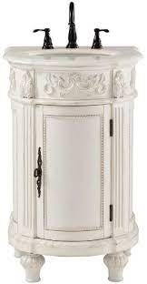 Home Decorators Collection Chelsea 22 W Single Bath Vanity 35 Hx22 Wx22 D Antique White Vanity Sinks Amazon Com