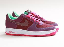 nike air force 1 low cherrywood red pink foil green glow arriving at retailers sneakernewscom cherry air force 1
