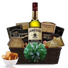 jameson caskmates stout edition irish whiskey gift basket