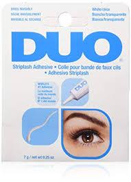 DUO Strip Lash Adhesive White/Clear, for strip false ... - Amazon.com