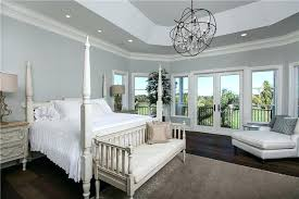 foucaults orb traditional master bedroom with clear crystal chandelier settee hardwood 60 foucaults orb chandelier