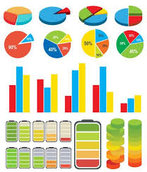 Vector Graphs And Charts Graphs Charts Download Free Vectors Clipart Graphics