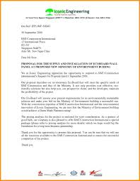 Sample Of Proposal Letters Template Business Relocation Letter Template Format Proposal