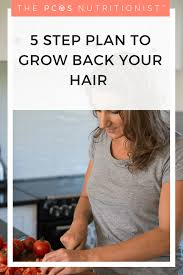 Pcos Hair Loss My 5 Step Plan To Help You Grow Your Hair Back