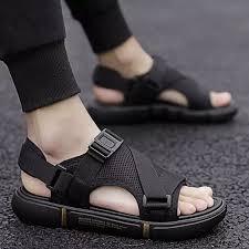 Breathable <b>air mesh sandals</b> for <b>man</b> casual slipper new arrival ...