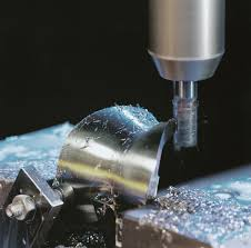 precision machining process. implants for knee joints are precision machined with the high-speed cutting hsc process on machining m