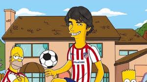 Uribe junta-se a João Félix, Ronaldo e companhia e entra na 'família' dos  Simpsons - Fotogalerias - Jornal Record