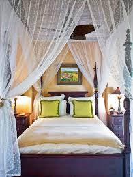 canopy bed drapes Bedroom Mediterranean with artwork canopy bed ...
