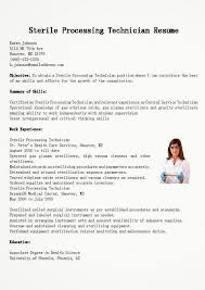 supply technician resume sample sample resume sterile processing technician resume sample sample
