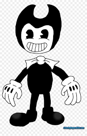 Bendy And The Ink Machine Coloring Pages Bendy And The Ink Machine