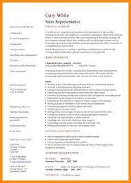 Sales Rep Sample Resume Enchanting Sample Resume Sales Representative Impressive Cv Samples For Call