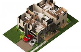 gorgeous 8 modern floor plans 3d house plan 2014002 homeca