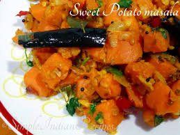 sweet potato recipes indian. Wonderful Sweet Sweet Potato Masala Inside Recipes Indian I