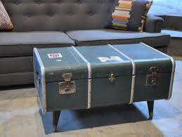 Black Steamer Trunk Coffee Table Steamer Trunk Coffee Table To Enhance The Living Room Decor And