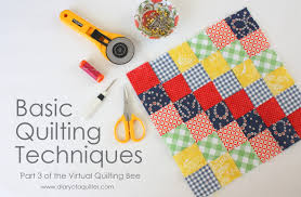 Virtual Quilting Bee - Quilt-Making Technique Basics - Diary of a ... & Virtual Quilting Bee – Quilt-Making Technique Basics Adamdwight.com