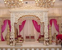 Wedding Designer Indian Wedding Designer Fiber Mandap Sharma Fiber