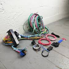 1953 pontiac wiring harness kit wiring library 1948 1963 pontiac wire harness upgrade kit fits painless complete compact new bar product description c