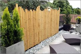 Bambus Sichtschutz Ausgeglichenes Auf Moderne Deko Ideen Oder