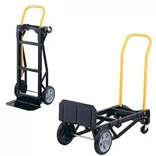 Dolly Hand Truck Portable Folding 2in1 Push Cart Moving Home Office
