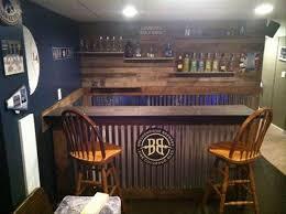 diy wood bar. DIy Pallet Wooden Bar Diy Wood