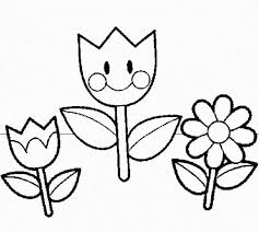 Preschool Coloring Pages Flowers Free Printable Coloring Pages