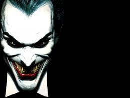 Joker face desktop PC and Mac wallpaper