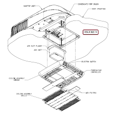 coleman 47024a876 62643 mach 8 low profile rv rooftop air insure that a condensate hose is installed if the optional condensate pump is provided the attachment point is in the return air