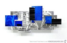cool blue metal wall art modern and contemporary abstract metal wall art sculptures teal colored metal  on blue abstract metal wall art with cool blue metal wall art outstanding artwork metal wall art painting