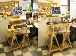 Exellent Adjustable Height Desk Ikea And Inspiration Decorating