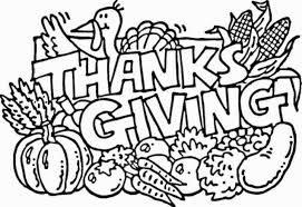 Small Picture Free Coloring Pages Thanksgiving Printables Bonnycmdcom