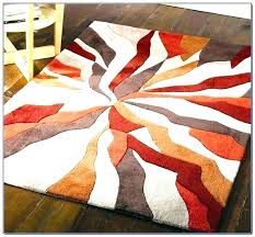 red and grey area rugs rug gray orange black white