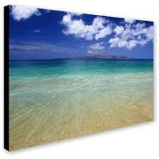 hlj arts sunrise theme 3 panels canvas wall decor blue skyline sea sunset white beach painting the picture prints seascape for home decoration ready to hang  on beach scene canvas wall art with hlj arts sunrise theme 3 panels canvas wall decor blue skyline sea