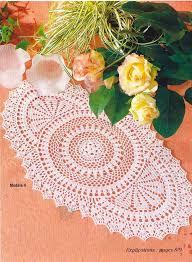 Oval Crochet Doily Patterns Free