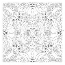 Snowflake Mandala Coloring Pages Awesome Mandala Printables Coloring