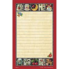 tcr4295 love home family friend notepad from mary engelbreit image