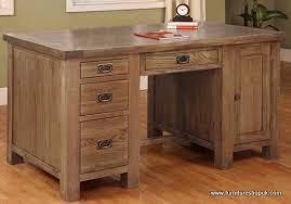 reclaimed oak furniture. Brooklyn Oak Reclaimed Desk Furniture